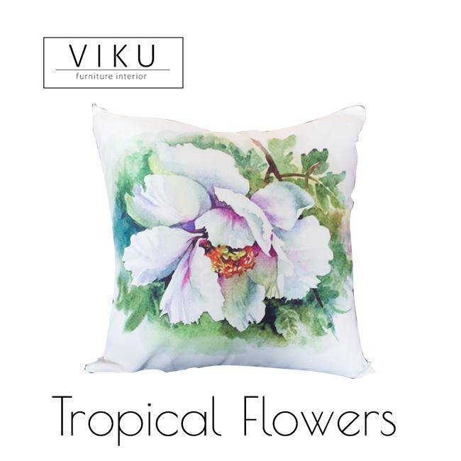 Tropical Flowers Viku Furniture Bandung
