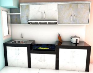 Kitchen Set Custom Murah Sesuai Impian Anda Viku Furniture Bandung