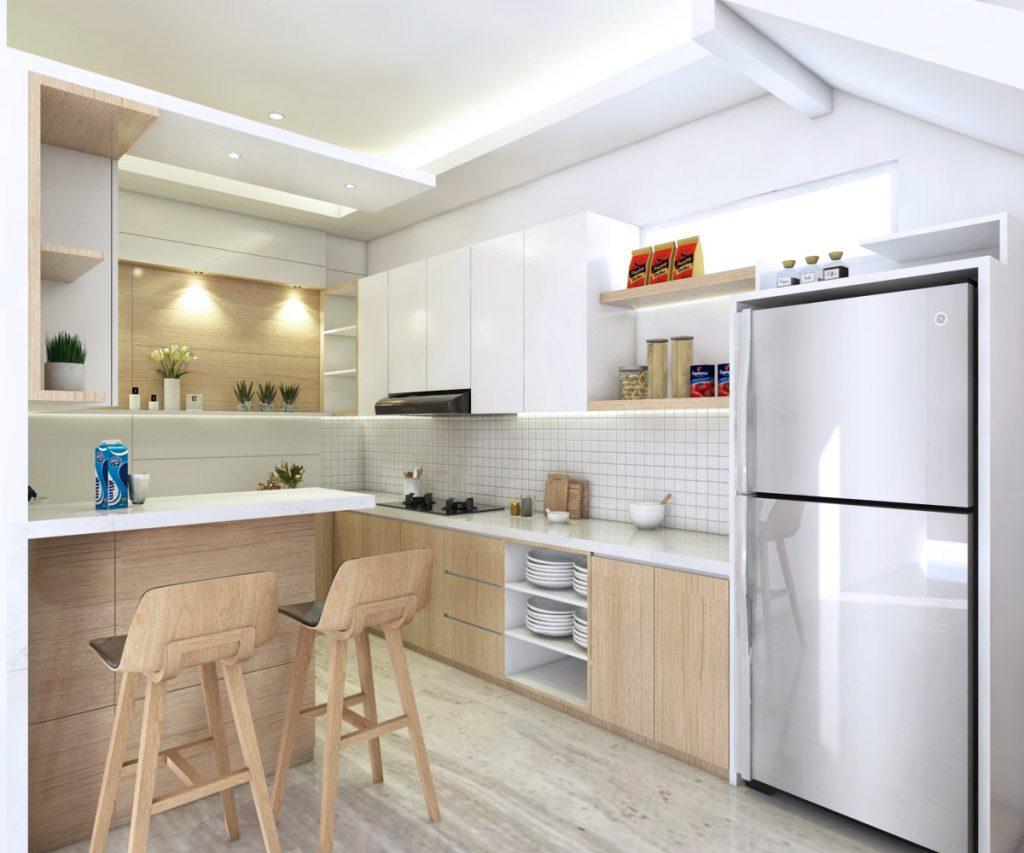 Memilih kitchen set dengan budget minimal