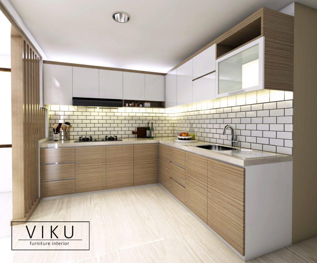 Model Kitchen Set Aluminium Archives Viku Furniture Bandung
