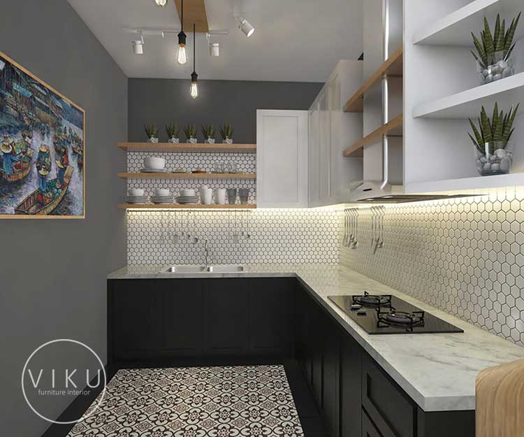 Menata Dapur Minimalis Viku Furniture Bandung